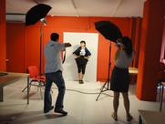 Publicidad como actriz desde 2010 hasta actualidad: Shooting Diseños de ropa de Escuela FELICIDAD DUCE.