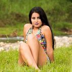 New face female model Evelyn from Ecuador