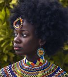 model female model Xorlalieva from Ghana