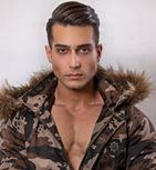 model male model Amin from Iran