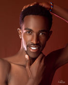 model male model Duwayne from Kenya