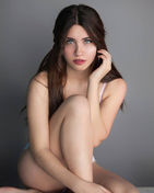 New face Female model Veronika from Spain