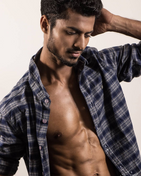 model male model Suraj from India
