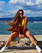 model female model Tina from Czechia