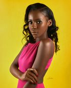 model female model Tatiana from Haiti