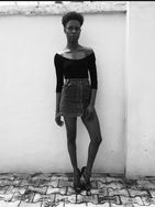 model female model Abosede from Nigeria