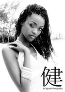 New face female model gabriel from The Bahamas