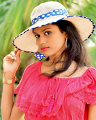 New face female model Mathurubini from India