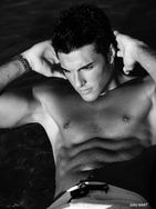 New face male model florian from