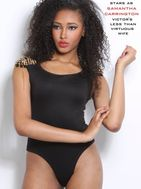 New face female model Kee'Lia from United States