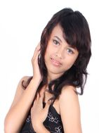 New face female model Abethcierra from Indonesia