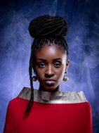 Professional model female model Rosaline from Gambia