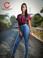 New face female model Chevii from Jamaica