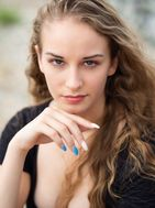 New face Female model Lynn from Switzerland