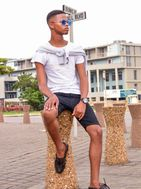 New face male model Oyama from South Africa
