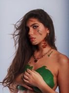 model female model Delaram from France