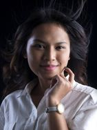 New face Female model Inge from Indonesia