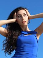 New face female model Yulia from France