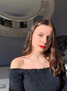 New face female model juliette from France