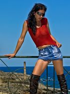 Professional model female model Natalie from Spain