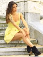 New face female model Shandra from Spain