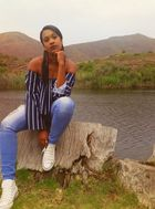 New face Female model Thato from South Africa