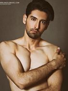 model male model akbar from Iran