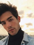 New face male model Vicente from Uruguay