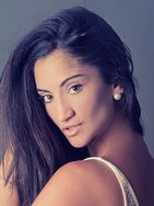 New face female model Isabel from Spain