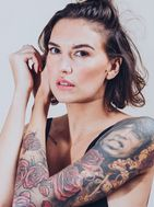 New face Female model Axelle from France