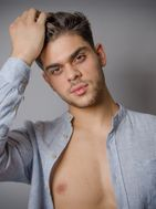New face male model Ekber from France