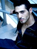 New face male model Manuel from Spain