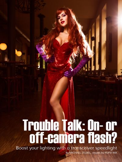 ShuShu as Jessica Rabbit for Trouble Talk