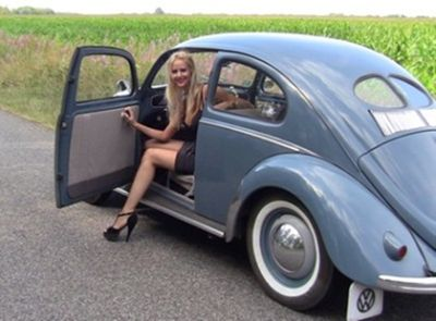 Jill and the 1952 VW