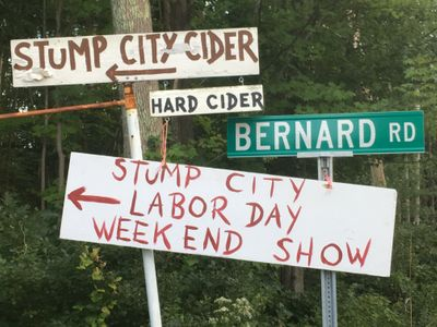 Client/Brand Stump City Cider from Rochester, United States