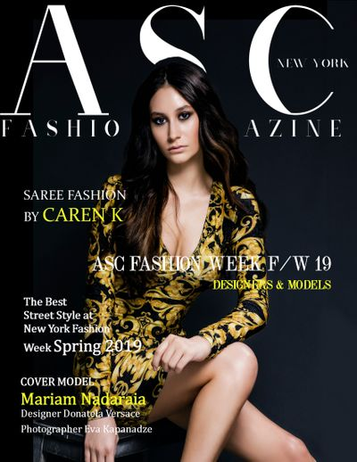 Kunde/Marke ASC FASHION WEEK - ASC FASHION MAGAZINE from New York, United States