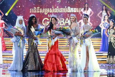 Royal Court, Miss Global Pageant 2017