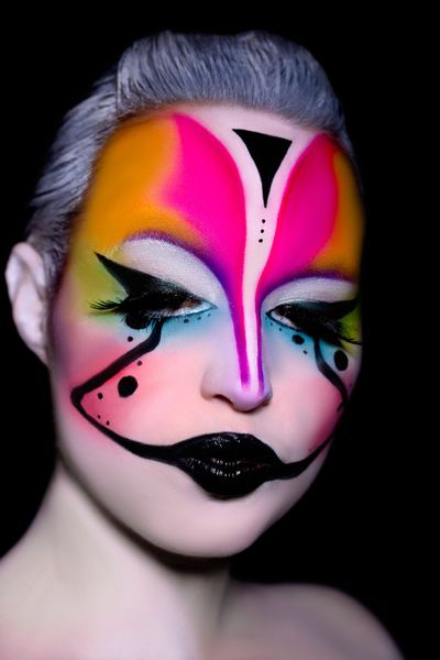 Hair and make up artists Bettina Butscher from Möhlin, Switzerland