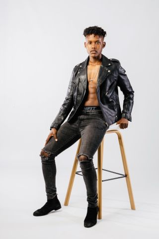 New face male model Menzi from South Africa