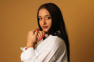 New face female model Cristina from United Kingdom