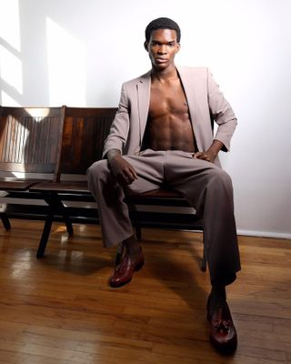 Professional model male model Ayinla from United States