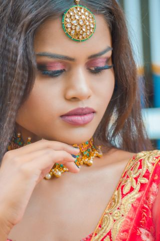 New face femminile modello Sahana from India