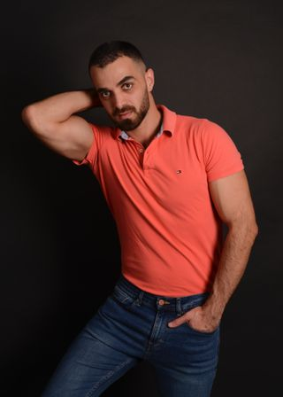 New face male model Sakhr from Canada