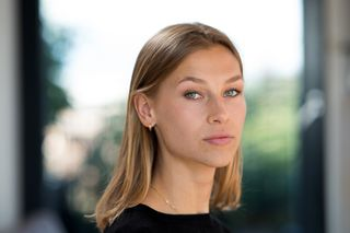 New face femme Mannequin Katja from Pays-bas
