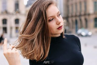 New face female model Manon from France