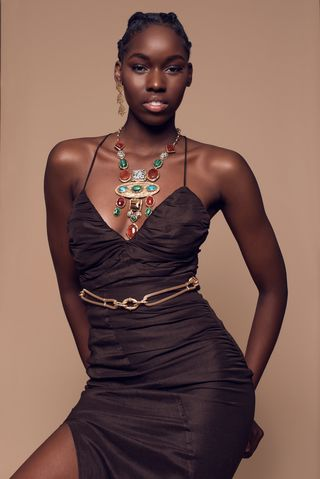 New Face weiblich Model Diakhoumba from Frankreich