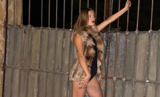 New face female model Lucia from Spain