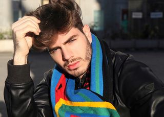 Professional model male model Franco from Spain