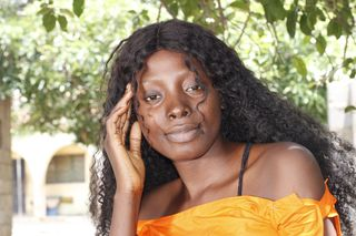 New face female model Shally from Nigeria