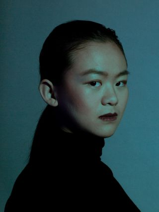 New face femme Mannequin Yimei from Pays-bas